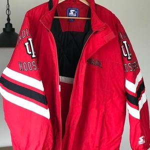Indiana University starter jacket vintage XL